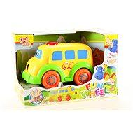 Baby autíčko autobus - Hračka pro nejmenší