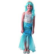 Šaty na karneval - mořská panna, 110 - 120 cm - Dětský kostým