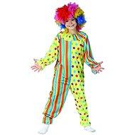 Šaty na karneval - klaun, 110 - 120 cm - Dětský kostým