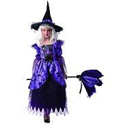 Šaty na karneval - čarodějnice, 130 - 140 cm - Dětský kostým