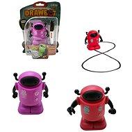 Robot s fixou jezdící po namalované čáře - Robot