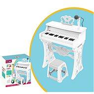 Piáno elektronické, 37 kláves, se židličkou - Hudební hračka