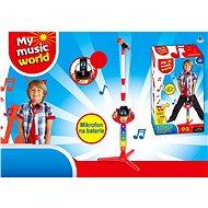 Mikrofon na baterie, s příslušenstvím (MP3, IPAD, přehrávač) - Hudební hračka