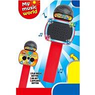 Mikrofon (bluetooth, karaoke) - Hudební hračka