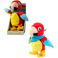 MaDe Papoušek opakující a chodící, 22cm - Interaktivní hračka