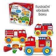 Little plastic mechanic Junior - firefighters - Building Kit