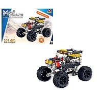 Little mechanic - car jeep, 201 pcs - Building Kit