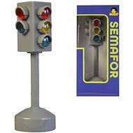 MaDe Semafor na baterie se světlem a zvukem, 12cm