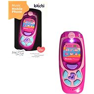MaDe Phone with light and sound, 16cm - Educational toy