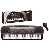 Elektronické klávesy 54 kláves černé - Hudební hračka