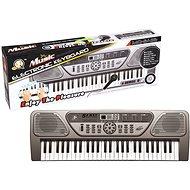 Elektronické klávesy 54 kláves šedé - Hudební hračka