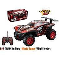 Auto RC Racing Climber 4WD 1:16 červené