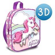 Kids Euroswan 3D Dětský batoh - Unicorn - Dětský batoh
