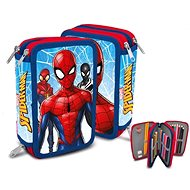 Kids Euroswan Triple stuffed case - Spiderman - Pencil Case