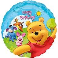 Balónek foliový 43 cm - Medvídek Pú