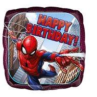 Balón foliový 43 cm - Spiderman Happy birthday - Balonky