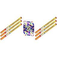 Konfety party barevné 80 cm 6 ks - Party doplňky