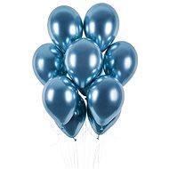 Balónky chromované 50 ks modré lesklé - průměr 33 cm - Balonky
