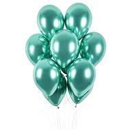 Balónky chromované 50 ks zelené lesklé - průměr 33 cm - Balonky
