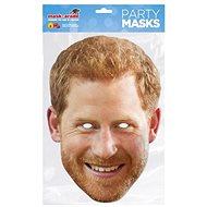 Princ Harry - maska celebrit - Doplněk ke kostýmu