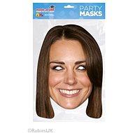 Kate Middleton - maska celebrit - Doplněk ke kostýmu
