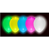 Led glowing balloons 5 pcs mix of colours - 30 cm - Balloons