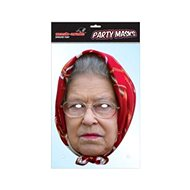 Královna Alžběta (Queen two) - maska celebrit - Doplněk ke kostýmu