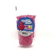 Megaslizoun - polystyrenové kuličky - růžové 0,2l