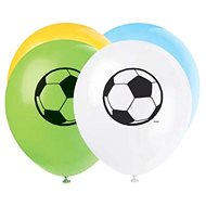 Balónky latexové fotbal 30 cm, 8 ks