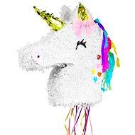 """Piňata jednorožec """"magic unicorn"""", 40 x 40 x 9,5 cm - tahací - Piňata"""