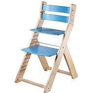 Rostoucí židle Wood Partner Sandy Barva: lak/modrá - Dětská židle