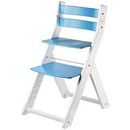 Rostoucí židle Wood Partner Sandy Kombi Barva: bílá/modrá - Dětská židle