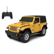 Jamara Jeep Wrangler JL 1:24 27MHz Yellow - RC Remote Control Car