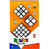 Rubik's cube set Trio (2x2x2 + 3x3x3 + 4x4x4) - Brain Teaser