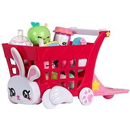 Kindi Kids nákupní vozík s doplňky - Doplněk pro panenky