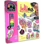 Jelli Rez duhová bižuterie -  kreativní sada pro výrobu gelové bižuterie  - Kreativní sada