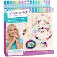 Make It Real Náhrdelník a náramky, medailonek - Kreativní sada