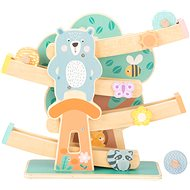 Small Foot Wooden track in pastel colours - Wooden Toy