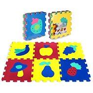 Pěnové puzzle Puzzle pěnové 6 ks - ovoce a zelenina