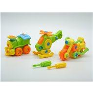 Sada aut na šroubování - Didaktická hračka