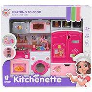 Kuchyňka na baterie, se světlem a zvukem - Kuchyňka