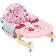 Baby Annabell Jídelní židlička s uchycením na stůl - Doplněk pro panenky