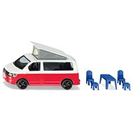 Siku Super - VW T6 California with movable roof and accessories - Metal Model