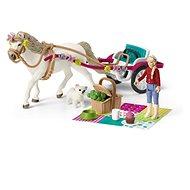 Figurka Schleich 42467 Kočár pro koňskou show