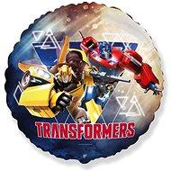 Balón foliový - 45 cm kulatý - Transformers - Balonky