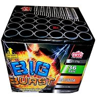 Fireworks - battery of big burst projectiles 36 rounds - Fireworks