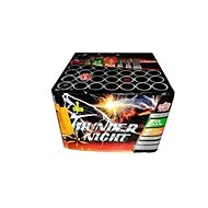 Fireworks - battery of thunder night projectiles 49 rounds - Fireworks