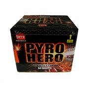 Fireworks - Pyro Hero 64ran Heat Exchanger Batteries - Fireworks