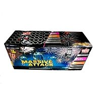 Fireworks - battery of massive attack projectiles 84 rounds - Fireworks