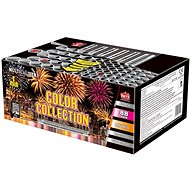 Fireworks - battery of colour collection projectiles 88 rounds - Fireworks